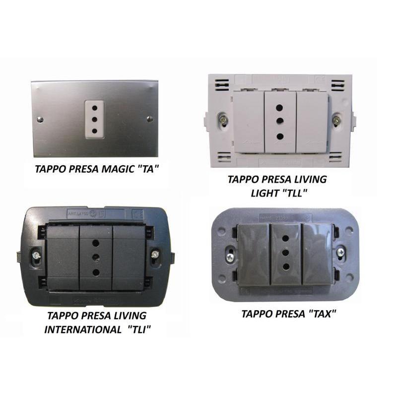Tappi per prese elettriche