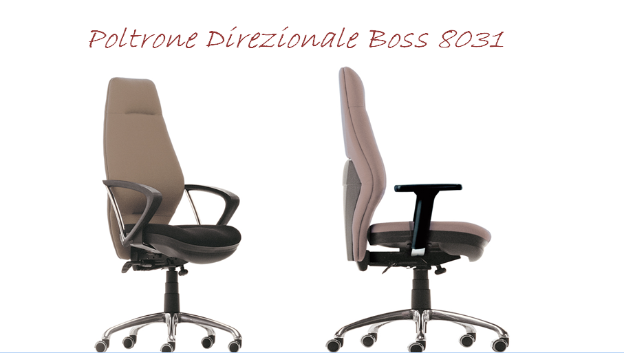 POLTRONA DIREZIONALE BOSS8031